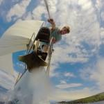 Segeln in Kroatien: Wer sich nicht festhält, fällt von Bord